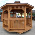10' x 10' Gazebo with two benches $1950