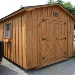 10' x 12' Shed, with ramp, 2 windows, shutters, and flower boxes $2290