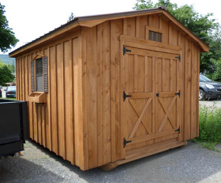 Amish Made Garages : Amish built gazebos and sheds for sale at v sales service
